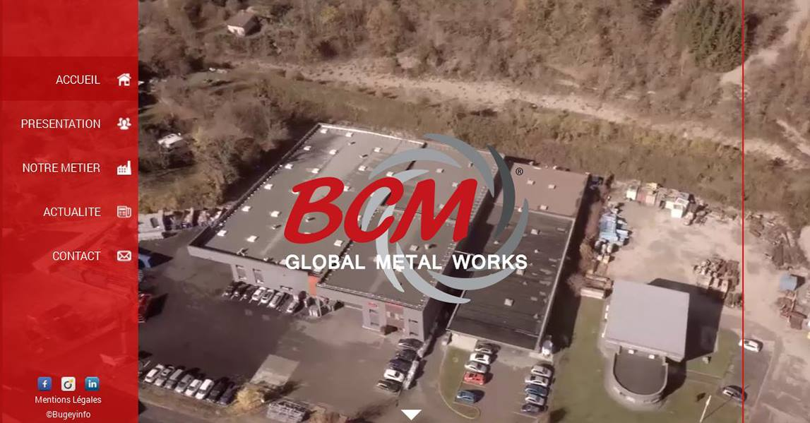 Projet BCM - Site Corporate